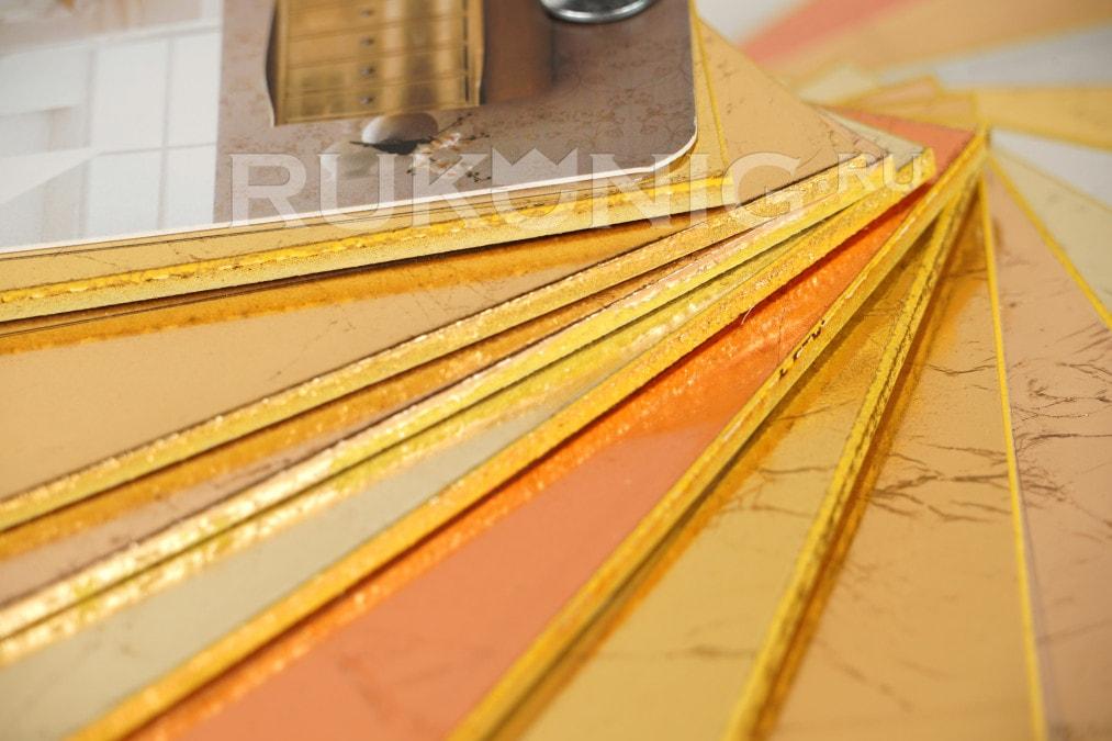 Веер золото Decoro/filetto/crepa/epoca/ancona