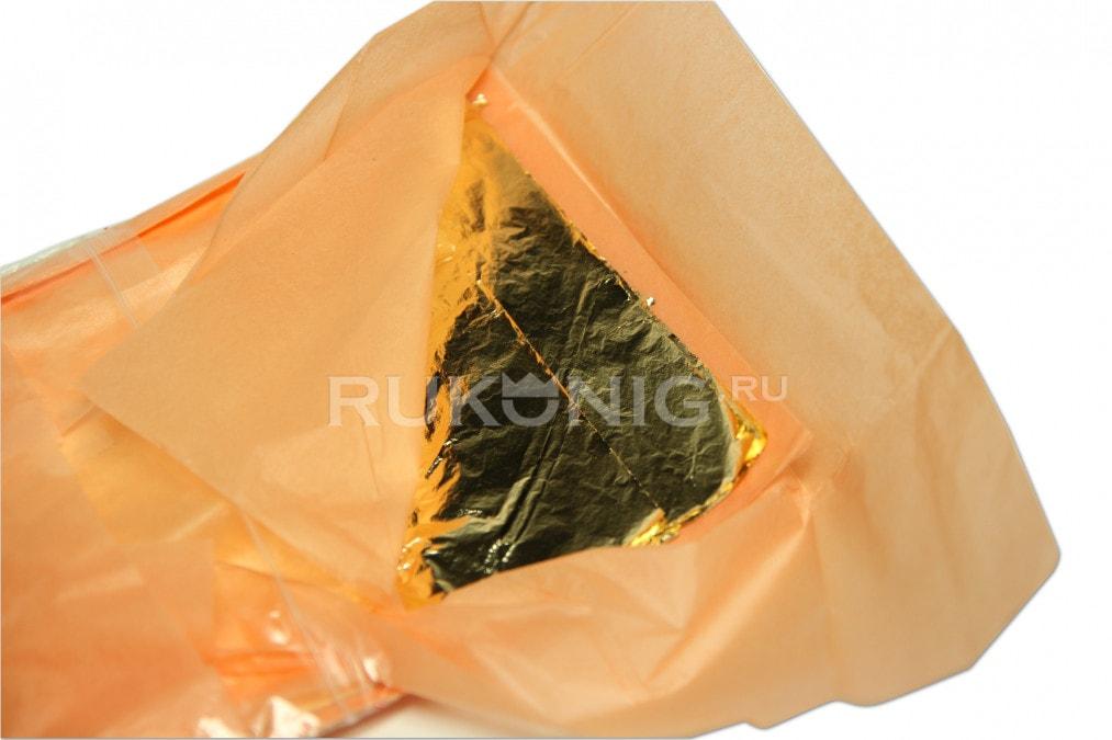 Поталь фольга BARI конверт 16*16, 500 листов