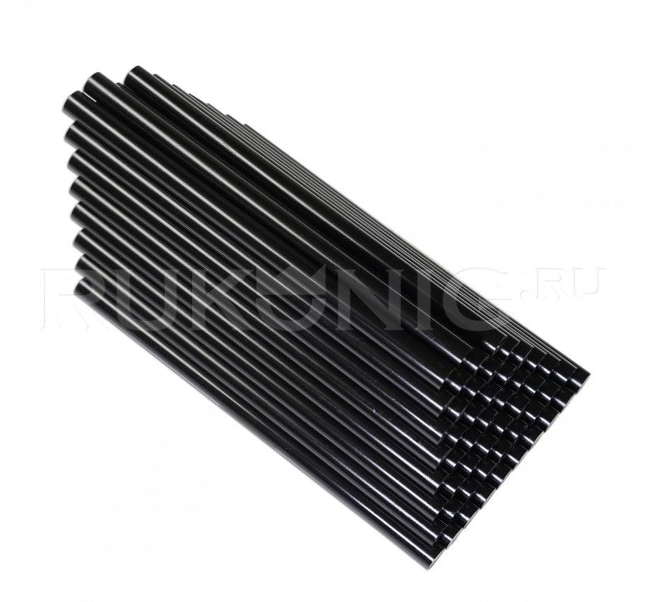 Клеевой стержень черный D-11 mm, L-200 mm