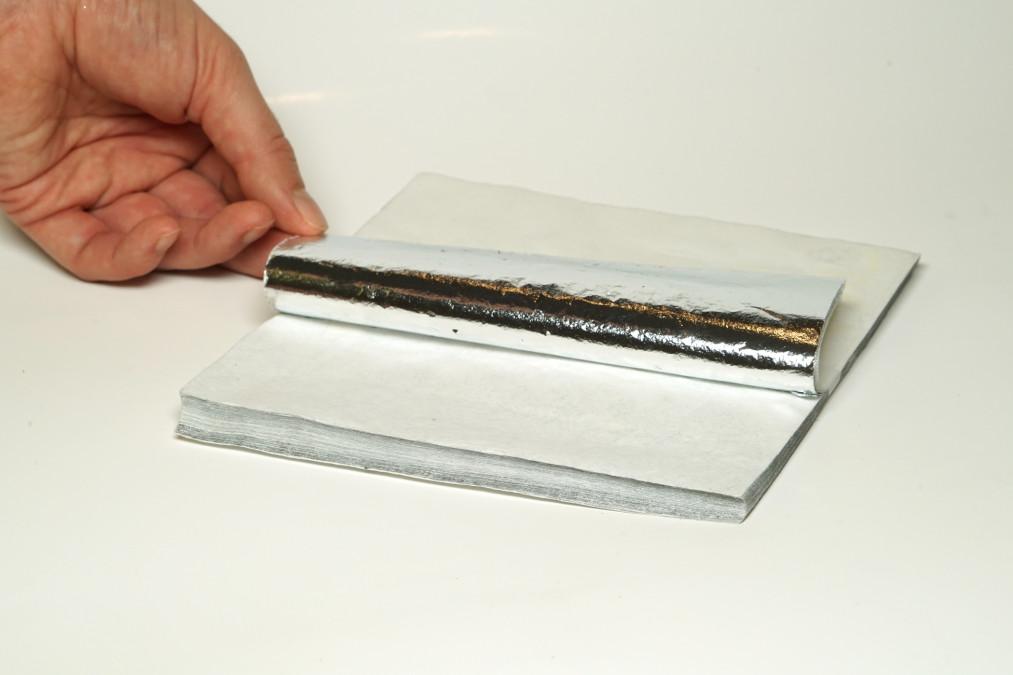 Глянцевая фольга FERRARA пачка 16*16, 100 листов