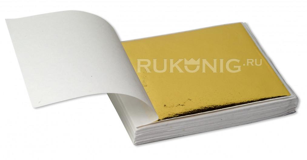 Зеркальная поталь FILETTO 8*8.5, 500 листов