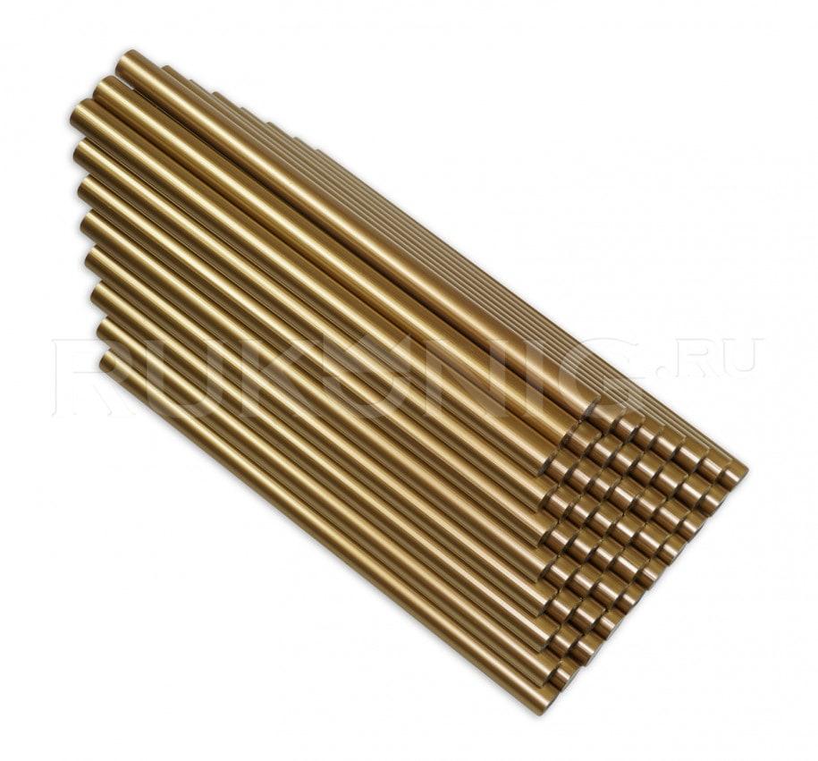 Клеевой стержень золотой D-11 mm, L-200 mm