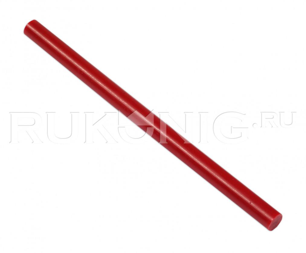 Клеевой стержень красный D-11 mm, L-200 mm