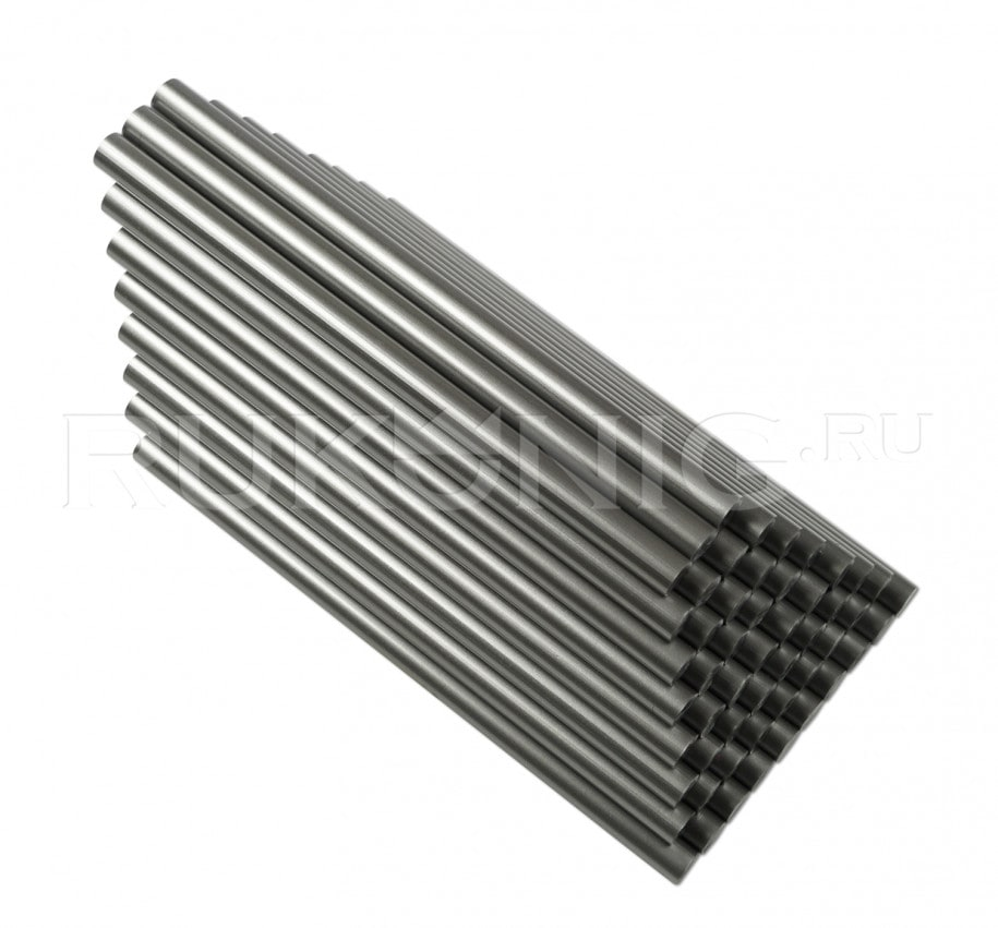 Клеевой стержень серебряный D-11 mm, L-200 mm