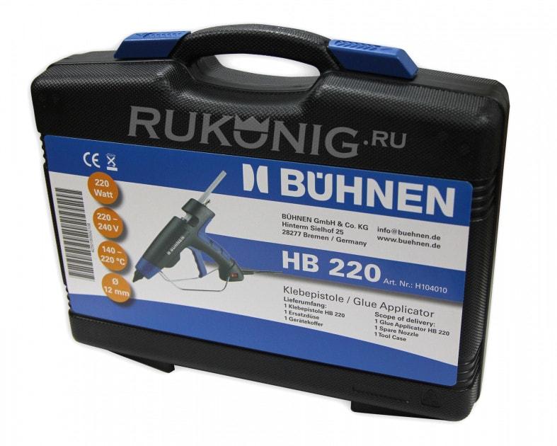BUNHEN HB220 пистолет-плавитель термоклеевой